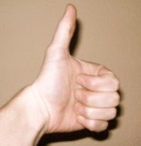 Left Thumbs Up