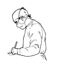 left-handed surgeon