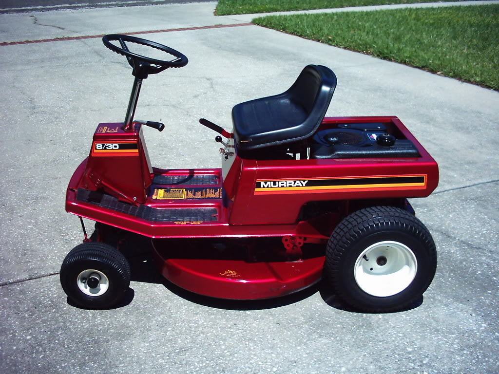 Old Riding Lawn Mowers : Creativity vs wealth sinister bend