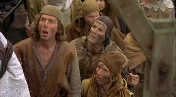 monty python witch crowd